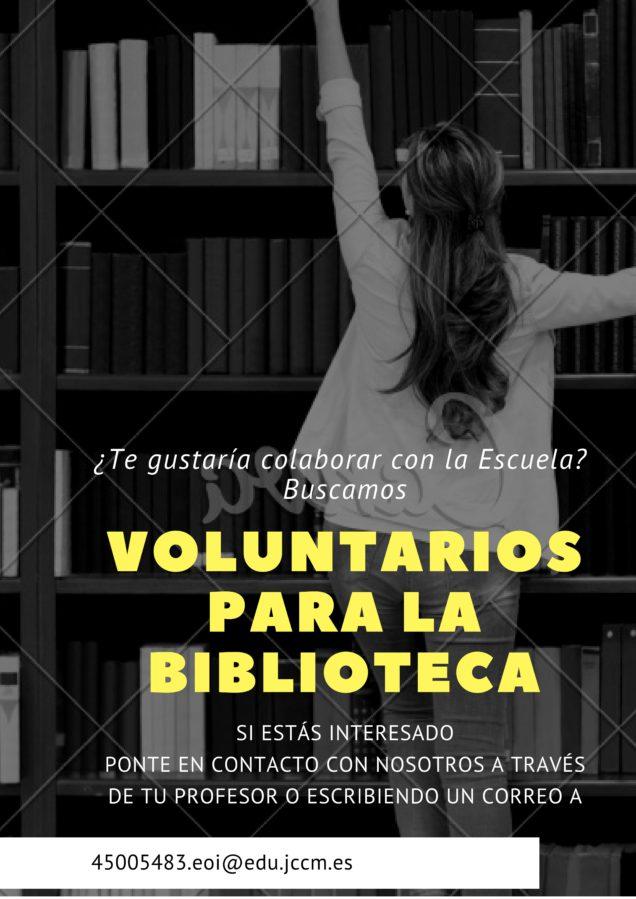 0001 636x899 - Apertura de la biblioteca de la EOI y búsqueda de voluntarios