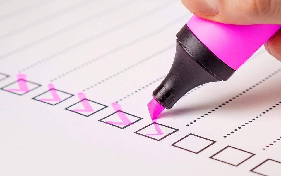 checklist 2077020 960 720 - Publicación de notas junio 2018