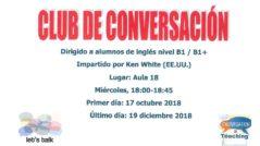 KEN 239x134 - Club de conversación de inglés B1/B1+ con Ken White