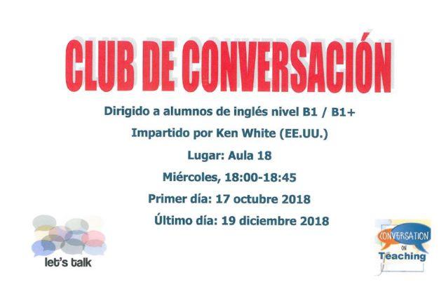 KEN 636x422 - Club de conversación de inglés B1/B1+ con Ken White