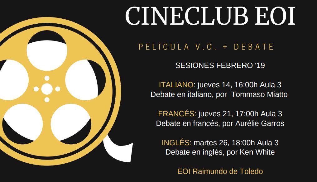 CINECLUB - ¡Novedad! Cineclub