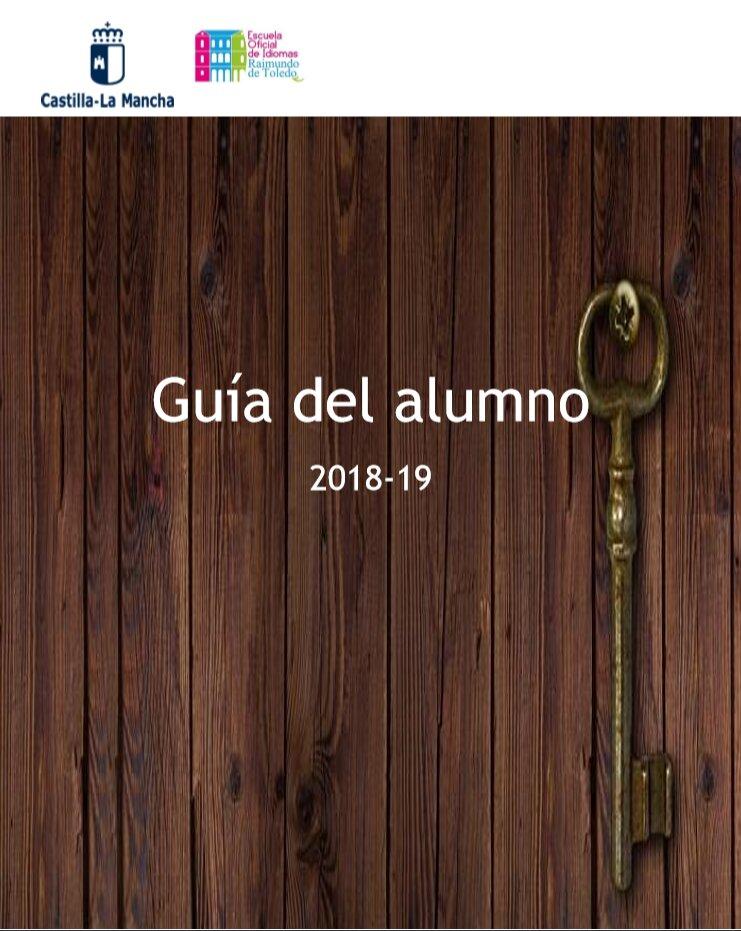 Captura 1 - Guía del alumno 2018-19