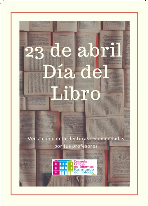 Captura - Tus profesores de la EOI de Toledo recomiendan leer en el Día del Libro...